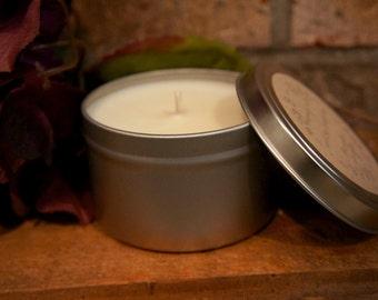 8 Ounce Tin 100% Soy Fall/Autumn Candle