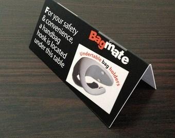 Bagmate Hookit Tent Card