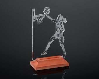 Female Basketball II Award / Trophy