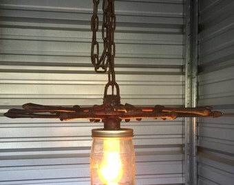 The Farmers Steampunk Pendant Light Fixture