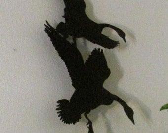 Canadian Geese, Wall Hanging, Metal Art, Handmade, Custom Design, Sportsman, Hunter
