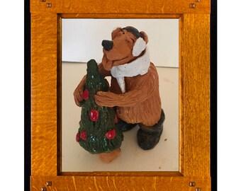 Xmas Tree Bear