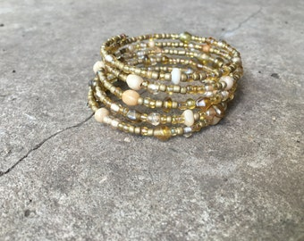 Champagne Wrapping Bracelet