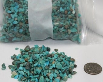 stabilized turquoise chips 5oz
