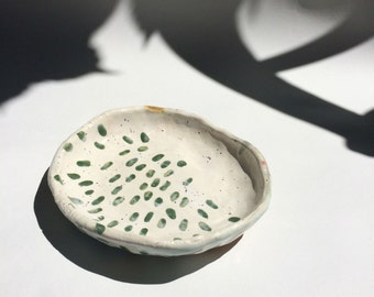 Handmade Ceramic Dish ~ Bowl ~ Jewelry Dish