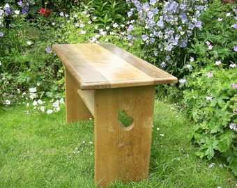 English Ash and American Black Walnut Coffee Table/Occasional Table
