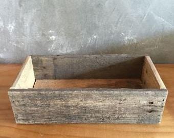 Rectangle Reclaimed Wood Planter Box