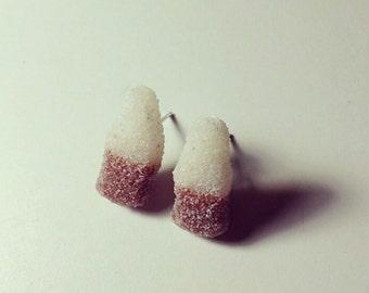 Cola Bottle Candy Earrings
