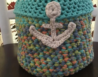 Anchor Yarn Basket
