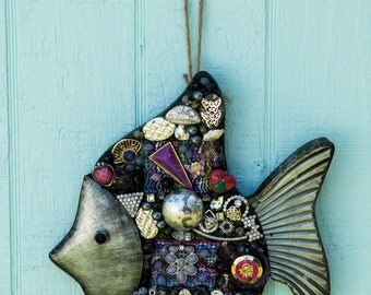 Purple Angel Fish