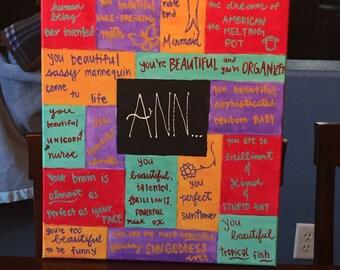 Ann-Parks & Recreation canvas