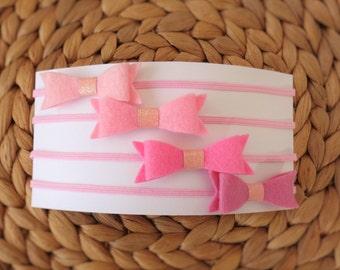 Headband Set - Pinks