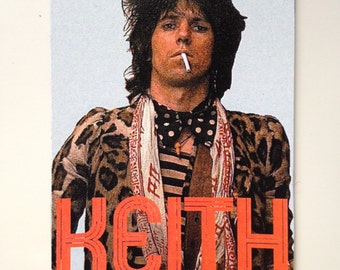 Keith Richards The Rolling Stones Magnet