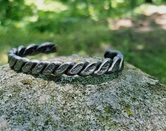 Bracelet, hand forged