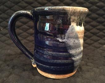 Stoneware pottery 8 ounc mug