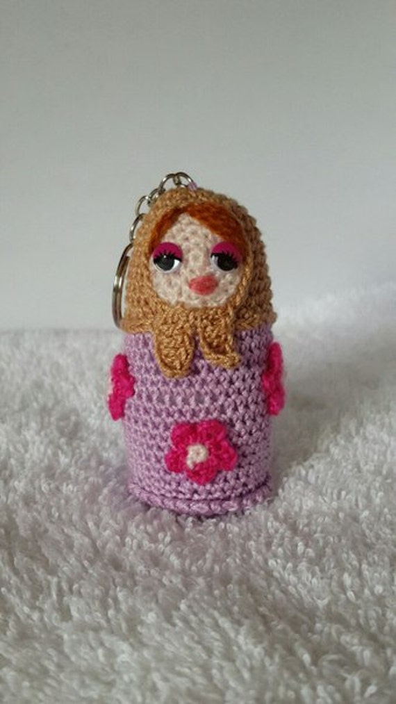Knitting Pattern Russian Doll : Russian doll matryoshka knitted amigurumi