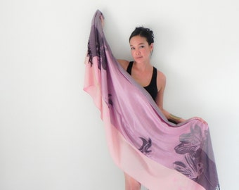 ONUMA pink scarf Handmade Scarf