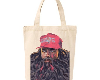 Forest Gump Tote Bag. 100% Cotton Tote Bag