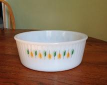 Vintage Opalware Dish  - Retro Kitchenalia - Phoenix Opalware similar to Pyrex - Mid-Century Kitchen Bowl - Retro Table Ware