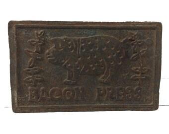 Vintage Bacon Press