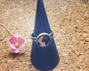 World ring in wood type, globe, earth, travel, vacation, world travelers, wanderlust