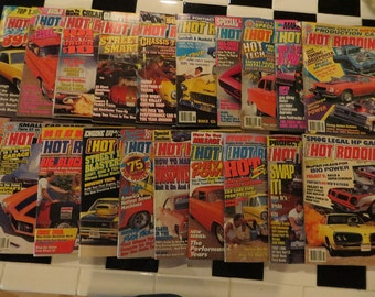 Hot Rodding Magazine - 20 issues from 1985 to 1991