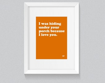 UP quote - A4 print