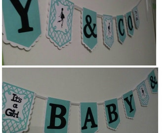Baby and Co,It's a Girl, Robin Egg,Mommy-To-Be,Banners,Party Decor,Baby Shower, New Arrival,Birthday,All Occasion,Party Supplies,Favors