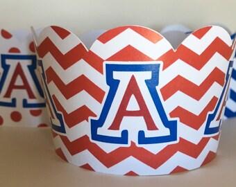 Arizona Wildcat Cupcake Wrappers (12 pack)