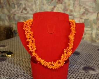 Necklace Natural Coral
