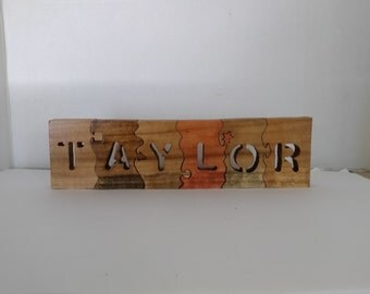 Name Wood Puzzle