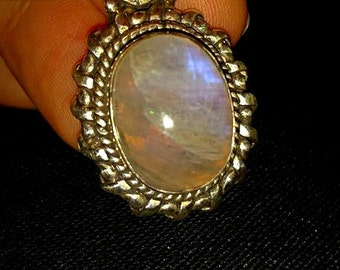 Moonstone Sterling Silver Pendent