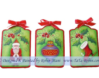 286 Touches of Christmas Decorative Painting Pattern