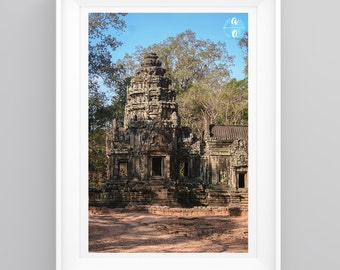 Original Photography Print - Angkor Wat, Cambodia- Temple. Handmade, Various Sizes