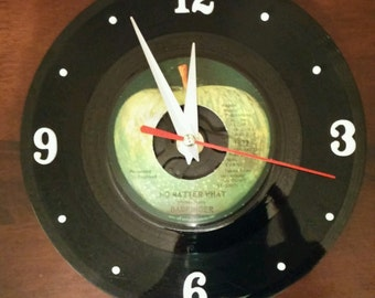 Badfinger Recycled Vinyl Record Clock