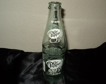 Dr. Pepper Bottle Empty Collectable 8 oz