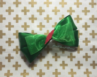 Peter Pan Inspired Disney Bow