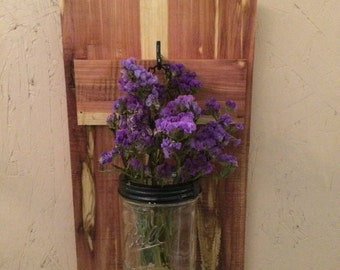 Hanging Mason Jar Plank