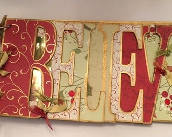 Believe Word Book