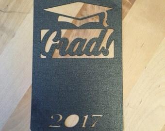 Graduation Announcement cut out