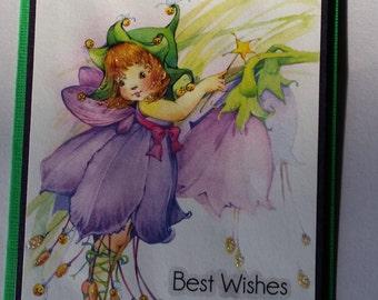 Best Wishes handmade card