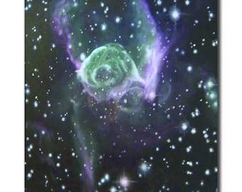 Poster of Thor's Helmet Nebula