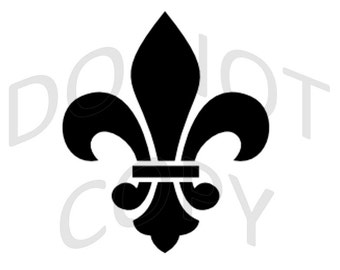 Reusable Stencil - Fleur de Lis - Many Sizes to Choose from!