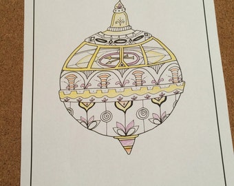 Liahona Coloring Page