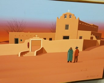 Southwestern Pueblo art - Kim Means