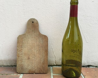 ANTIQUE VINTAGE FRENCH bread or chopping cutting board wood tiny cute 331