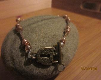 Lock and Key Ankle Bracelet