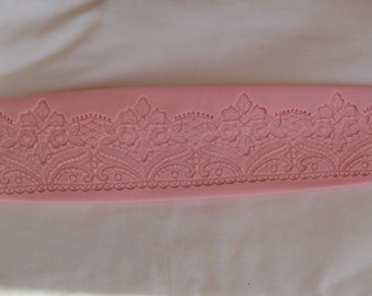 Band Silicone lace 330 x 90 mm Cake Design