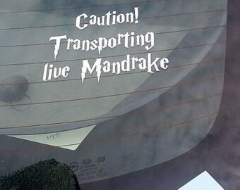 Mandrake Car Decal