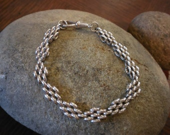 Sterling silver bracalet